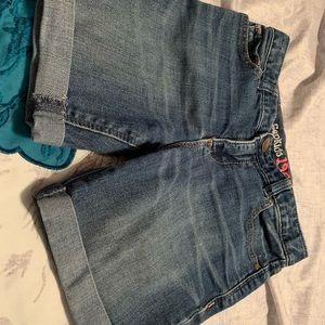 Girls size 12 slim shorts.